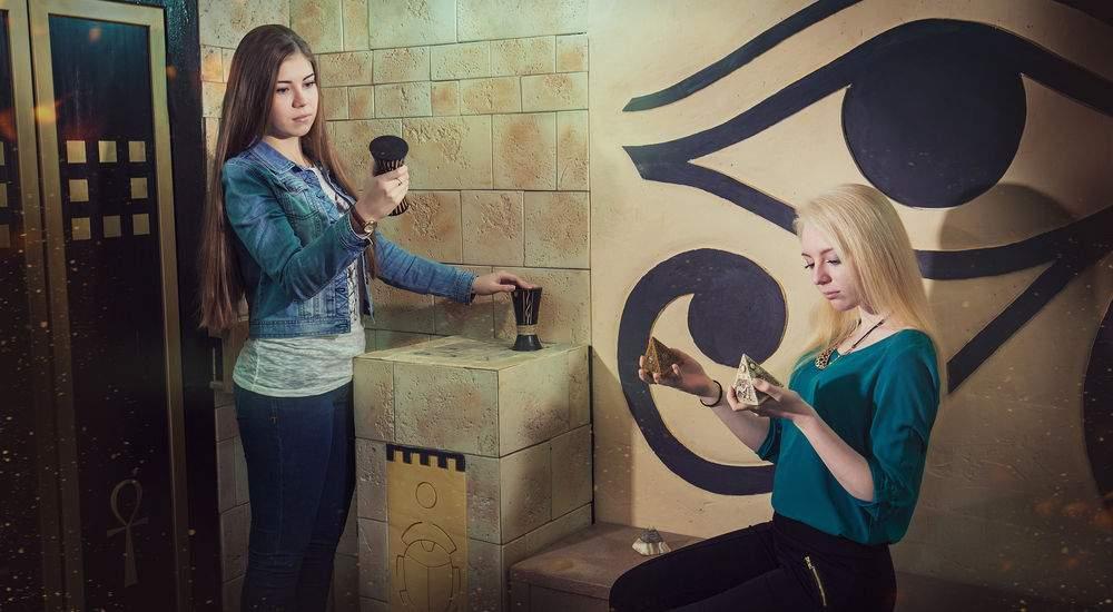 Квест 7 загадок фараона в Москве фото 5