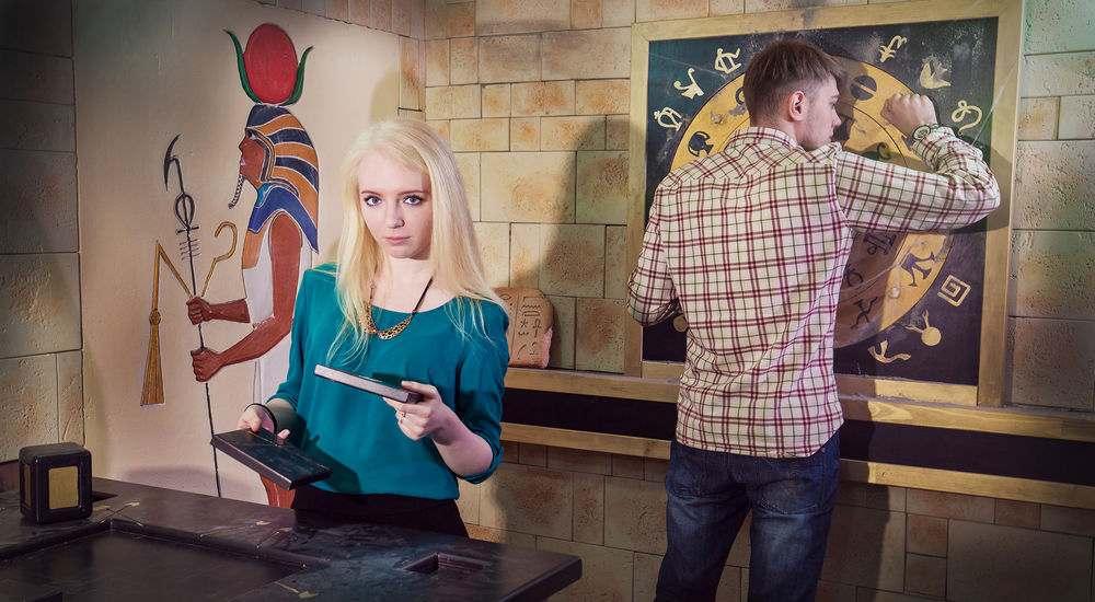 Квест 7 загадок фараона в Москве фото 2