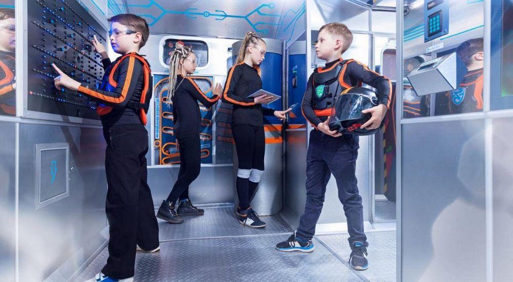 Квест Звездный спецназ в Москве фото 1