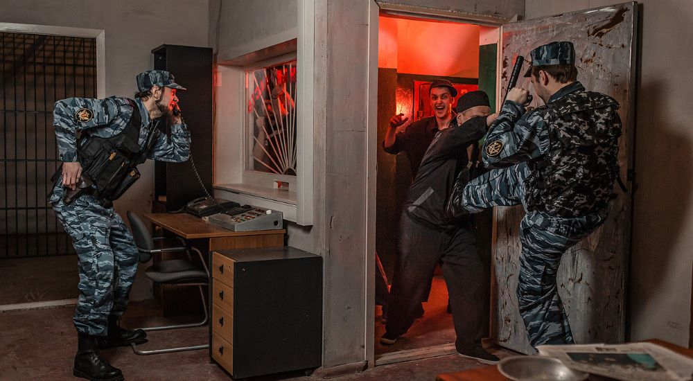 Перформанс Побег в Москве фото 1