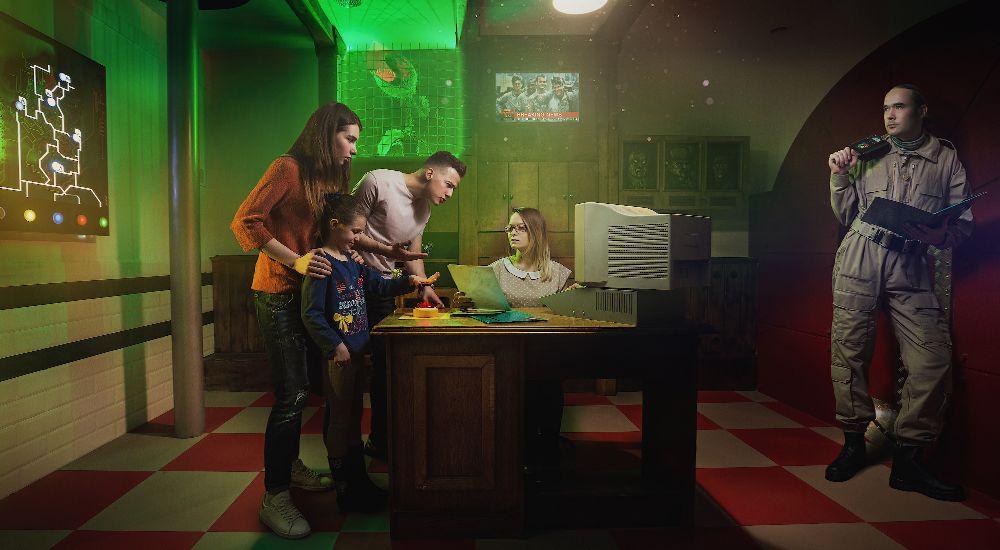 Квест Охотники за привидениями в Москве фото 3