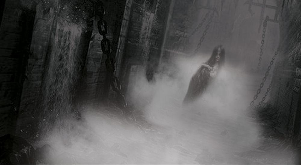 Перформанс Призраки подземелья в Барнауле фото 0