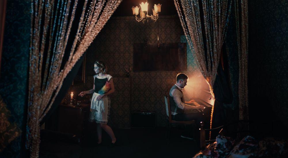 Перформанс Lucky Hotel в Москве фото 0