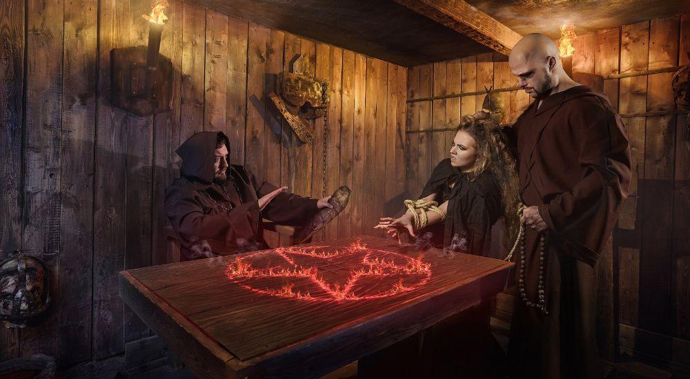 Квест Инквизиция в Москве фото 1