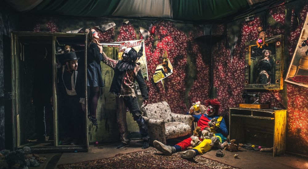 Перформанс Не тот цирк в Москве фото 1