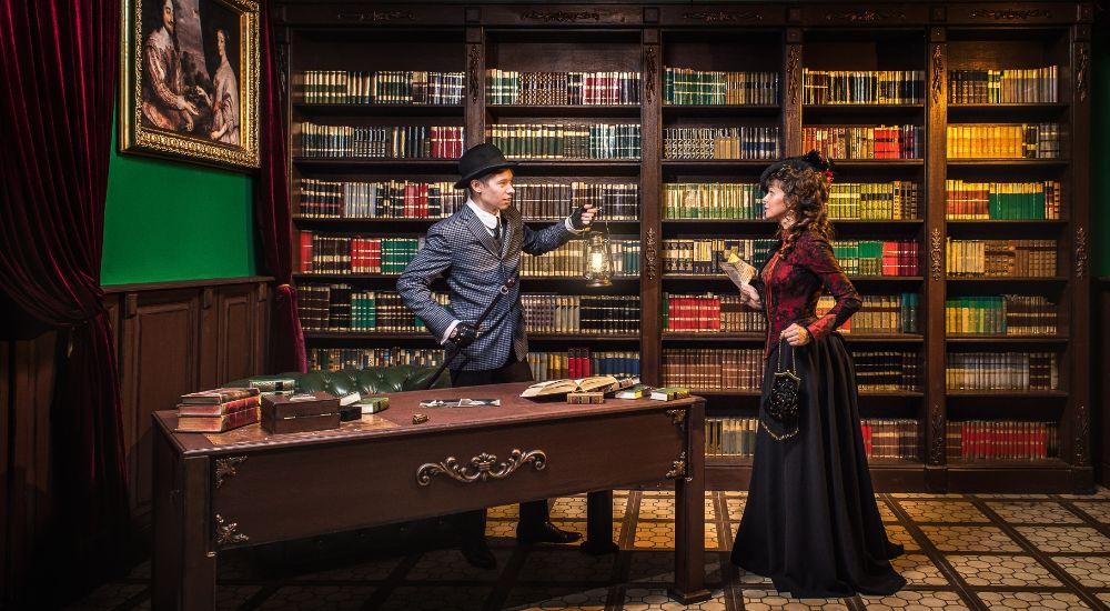 Квест Шерлок против Мориарти в Москве фото 3
