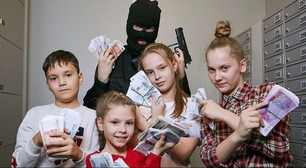 Перформанс Ограбление Века в Владивостоке фото 0