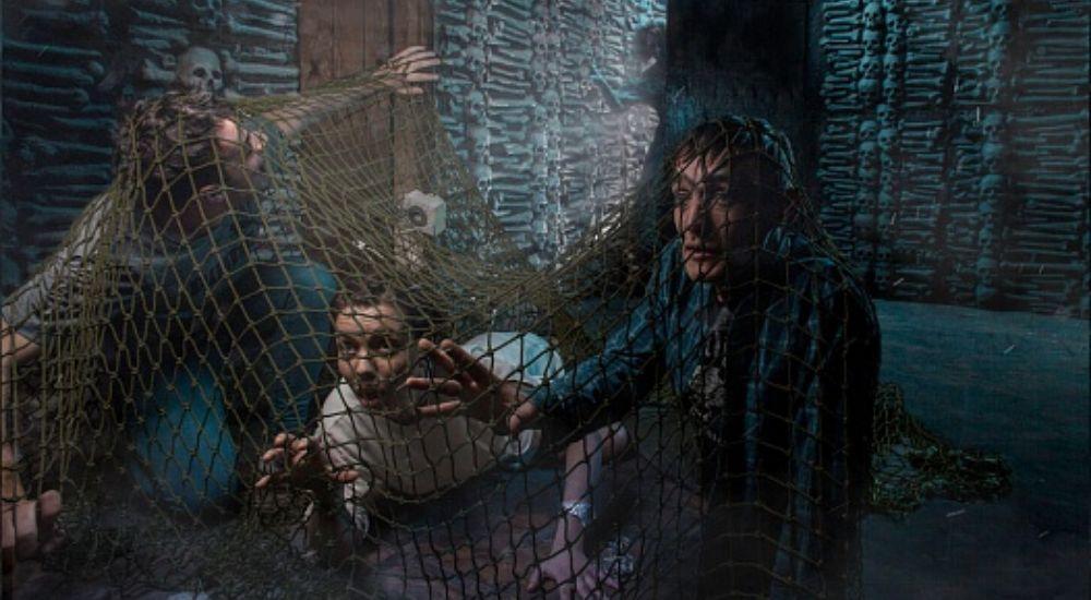 Перформанс Дракула в Москве фото 3