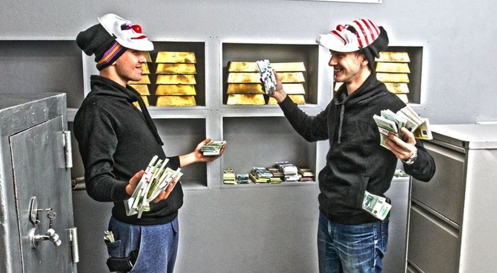 Квест Ограбление банка в Москве фото 0