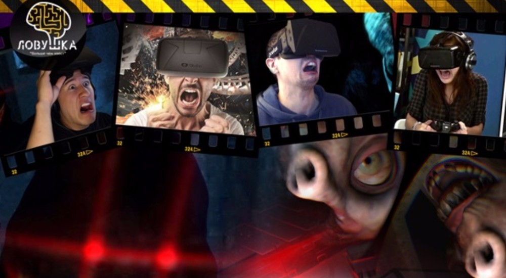 VR квест Mind Horror в Москве фото 5