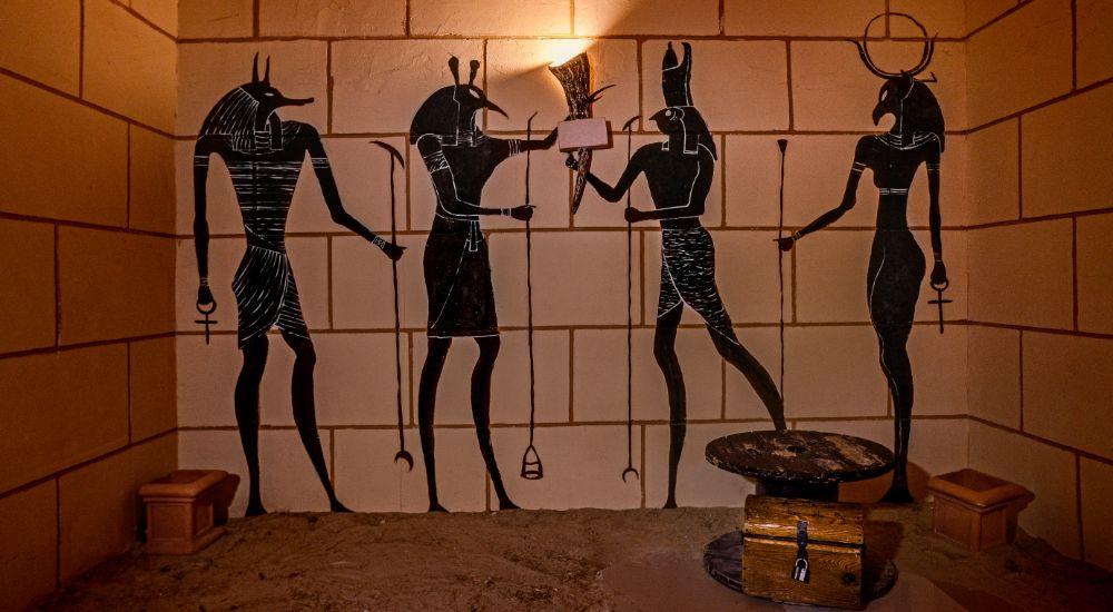 Квест Мумия - проклятие фараона в Волжском фото 1