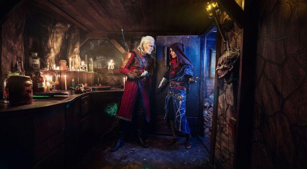 Квест Ведьмак в Москве фото 2