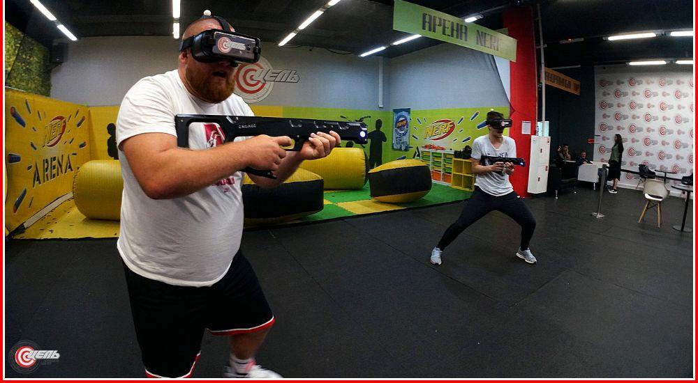 VR квест «Командный VR-полигон» в Москве фото 0