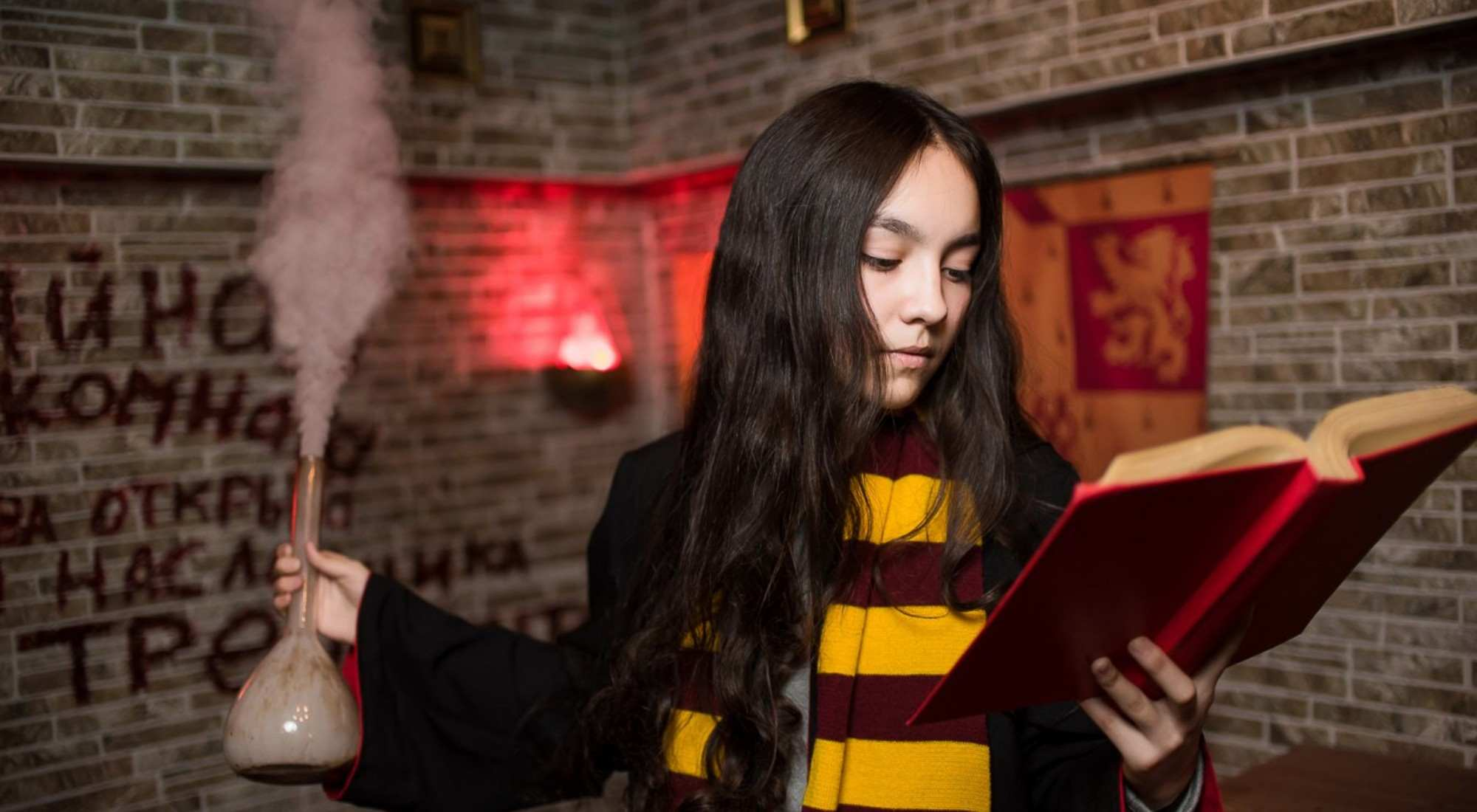 Квест Гарри Поттер и тайная комната в Барнауле фото 0