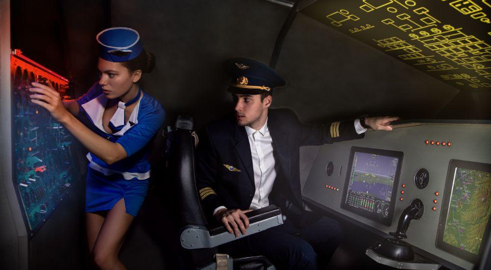 Квест Президентский рейс в Москве фото 1