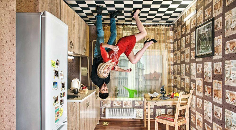 Квест Дом вверх дном AR в Москве фото 2