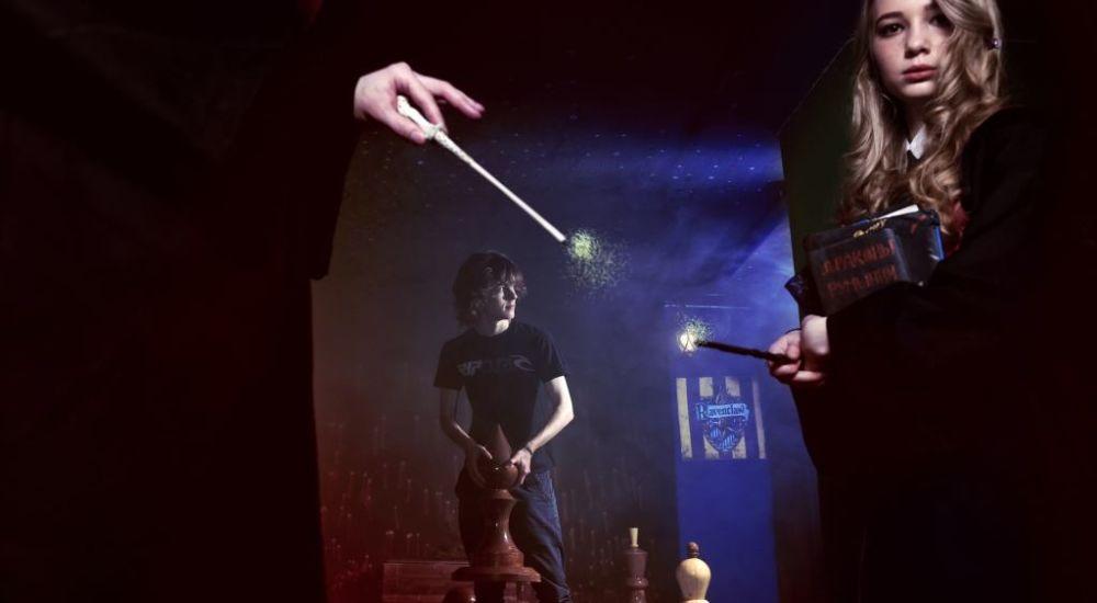 Квест Гарри Поттер: Дары смерти в Москве фото 3