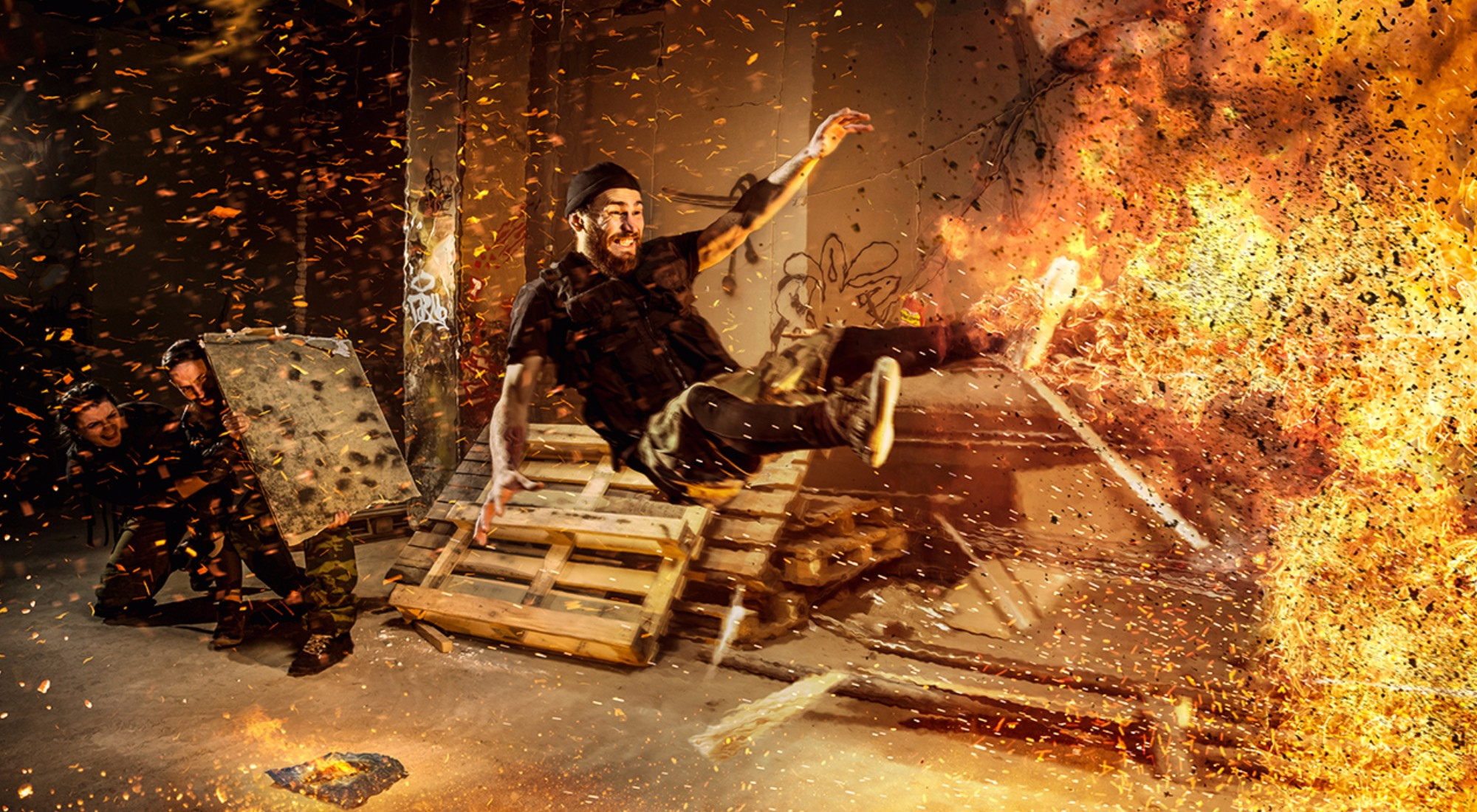 Квест Бомбермен в Москве фото 2