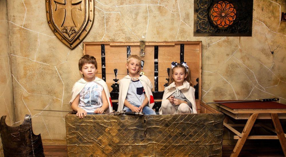 Квест Тайна замка тамплиеров.KIDS в Кемерово фото 1