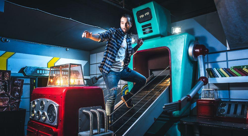 Квест Фабрика роботов в Москве фото 0
