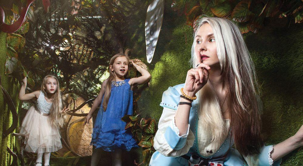 Квест Алиса в Москве фото 2