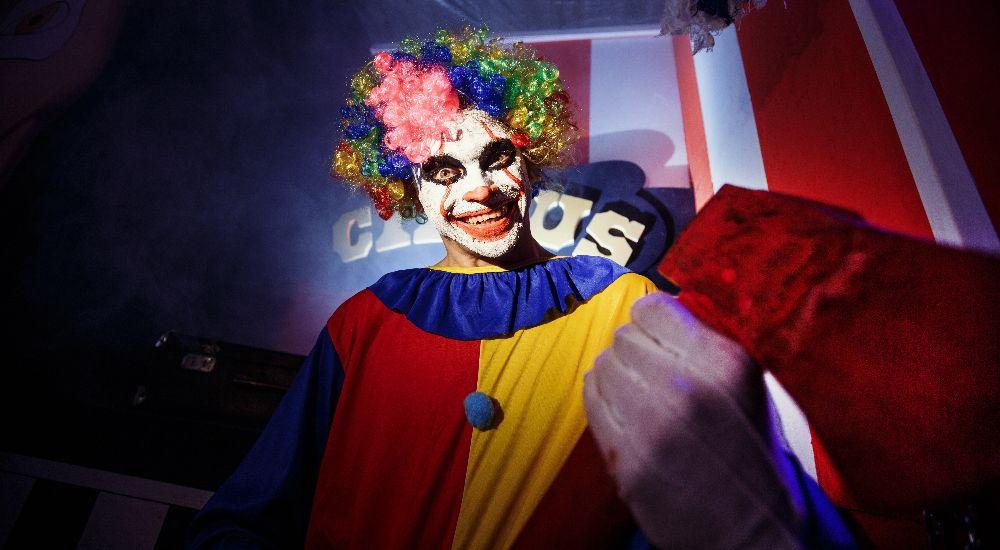 Перформанс Проклятый Цирк в Тюмени фото 0