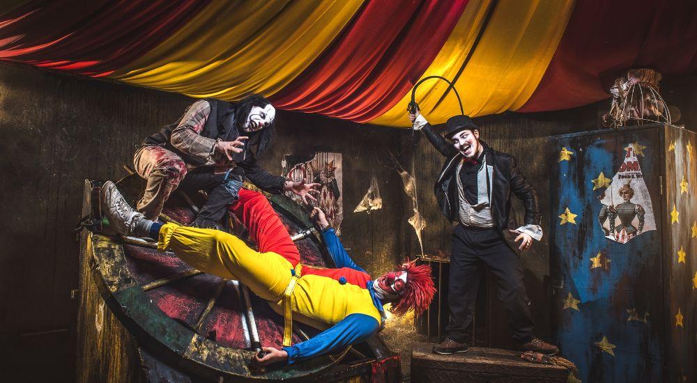 Перформанс Не тот цирк в Москве фото 0