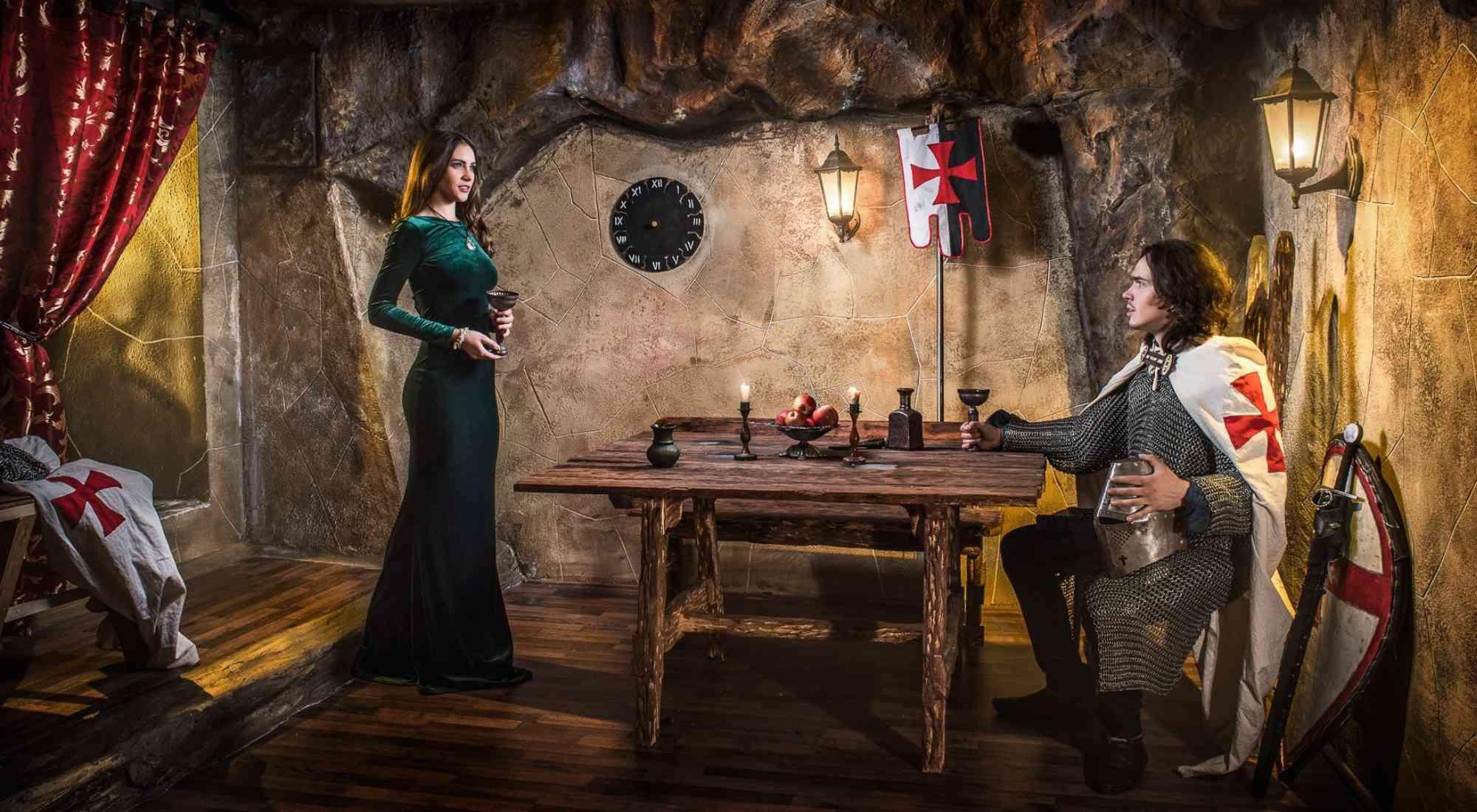 Квест Тайна замка тамплиеров в Кемерово фото 2