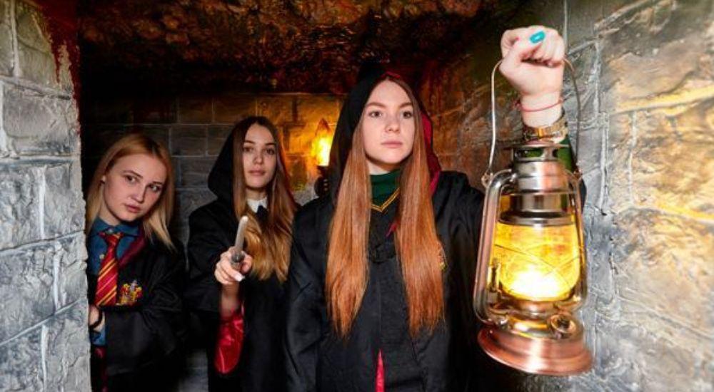 Квест Гарри Поттер и Тайная комната в Владивостоке фото 0