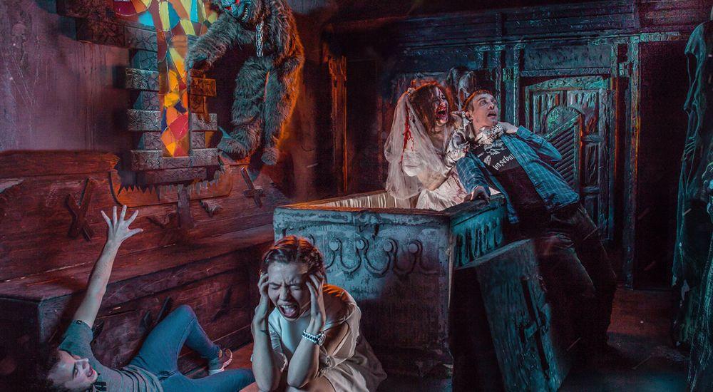 Перформанс Дракула в Москве фото 1