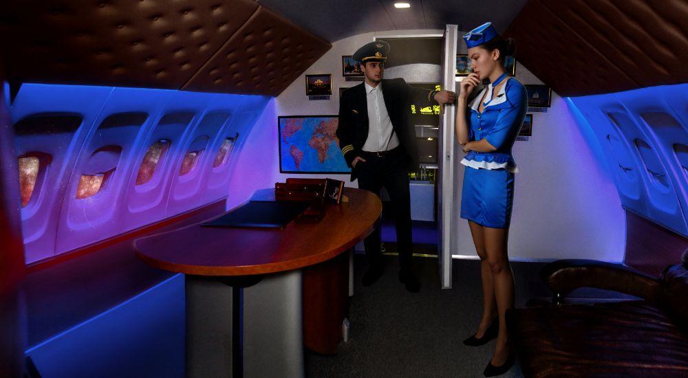 Квест Президентский рейс в Москве фото 2