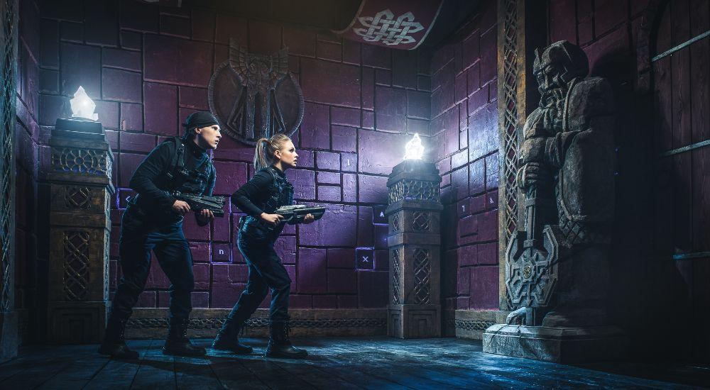 Квест Подземелье красных гномов в Москве фото 0