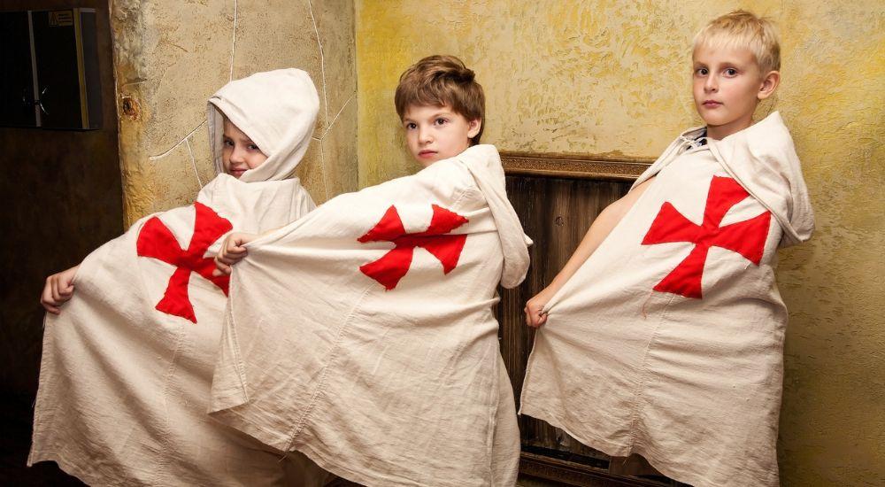 Квест Тайна замка тамплиеров.KIDS в Кемерово фото 2