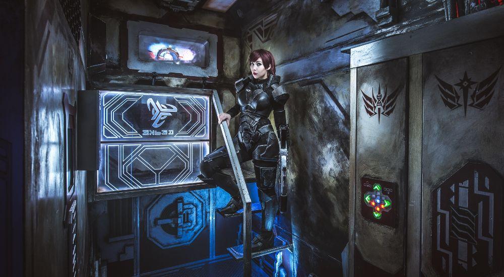 Квест Звёздный патруль в Москве фото 2