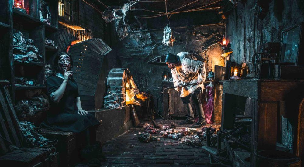 Перформанс Дом Беллы в Москве фото 2