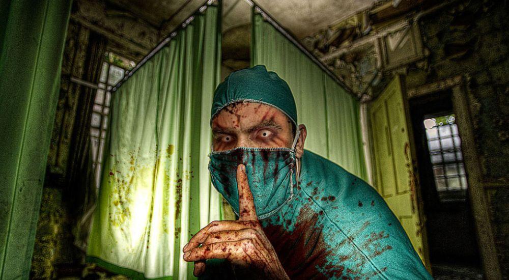 Перформанс Ночные кошмары в Томске фото 1