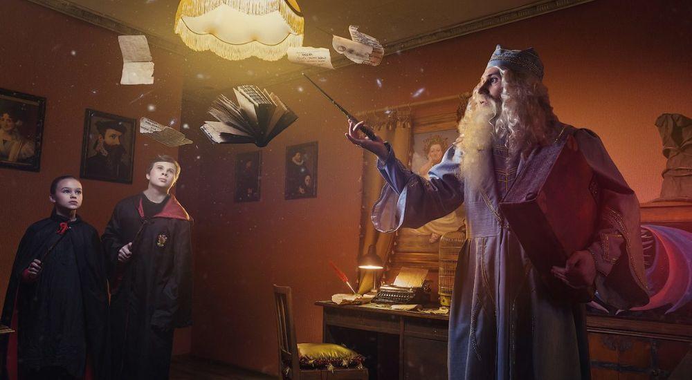 Квест Приключения Гарри Поттера в Москве фото 0