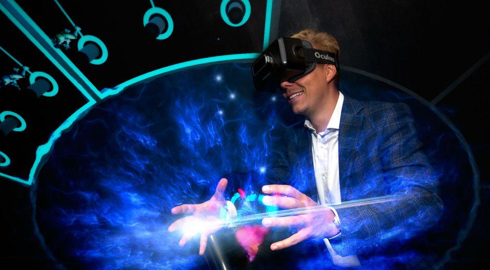 VR квест Гравитация в Москве фото 2