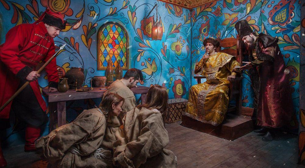 Перформанс Иван Васильевич (НЕ) меняет профессию в Москве фото 3