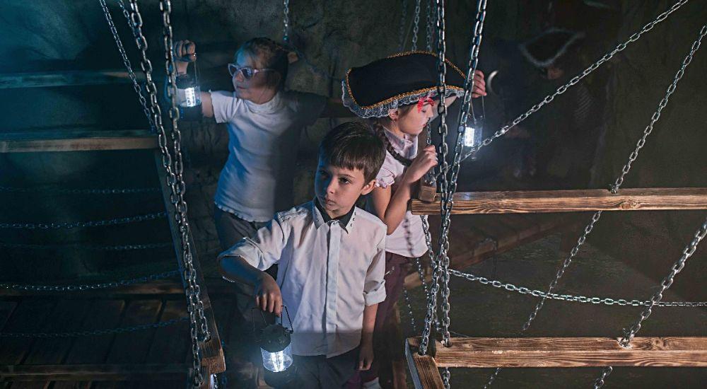 Квест Пиратские Приключения на острове Креста в Москве фото 0