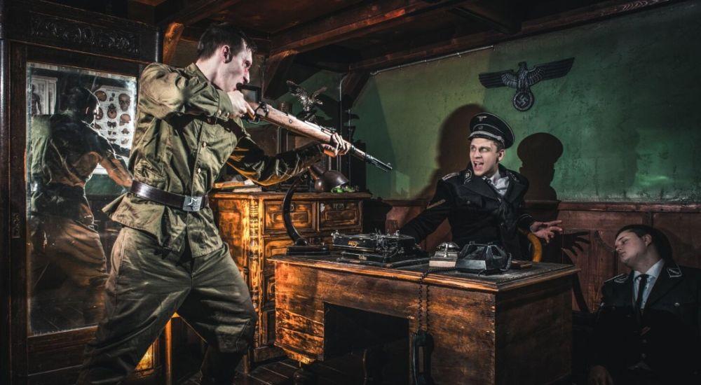 Перформанс Диверсанты: в тылу врага в Москве фото 0
