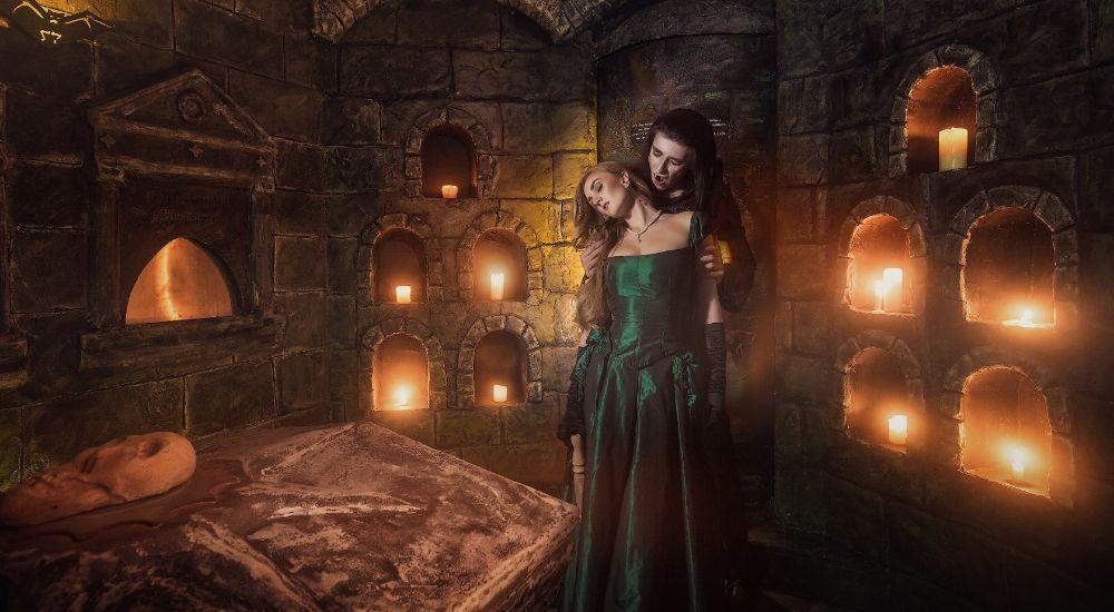 Квест Сокровища Дракулы в Москве фото 2