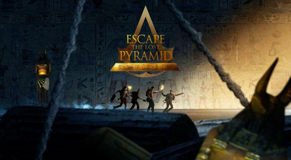 VR квест Escape the lost Pyramid в Томске фото 0