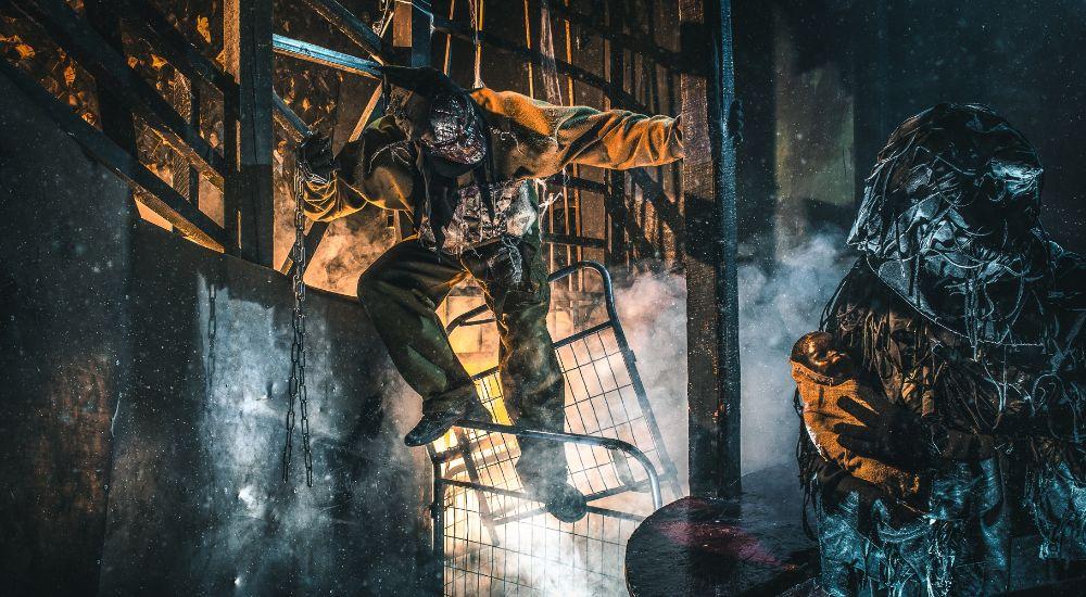 Перформанс Inferno в Москве фото 3