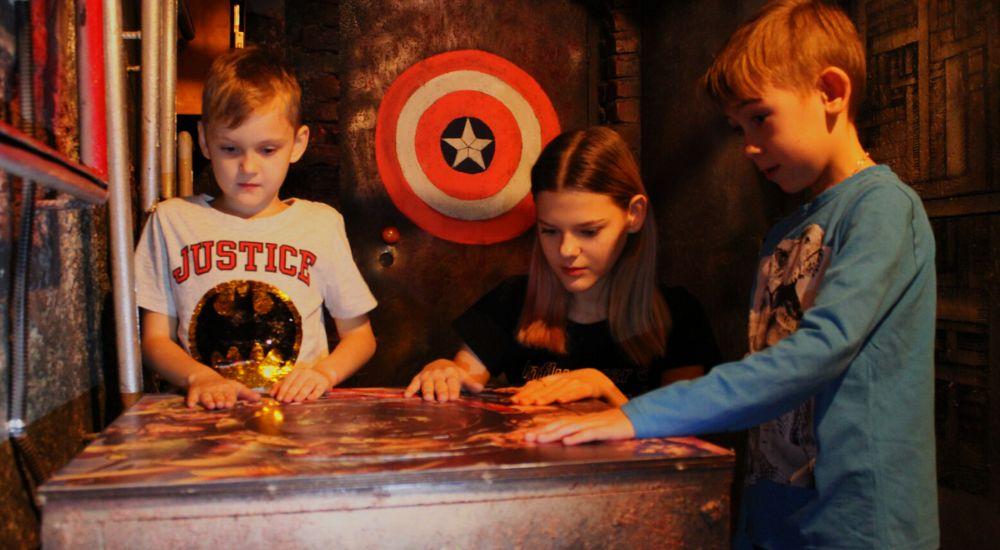 Квест Лабиринт  Супергероев в Краснодаре фото 1