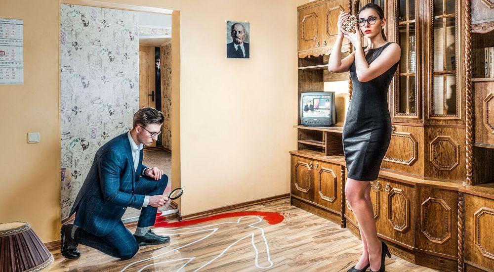 Квест Убийство в закрытой комнате в Москве фото 3