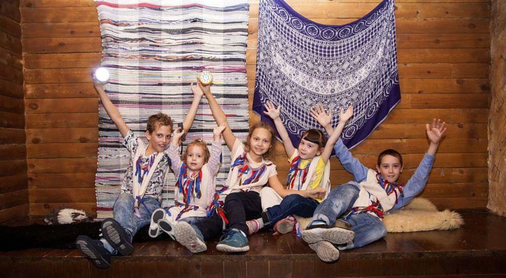 Квест Хижина шамана.KIDS в Кемерово фото 0