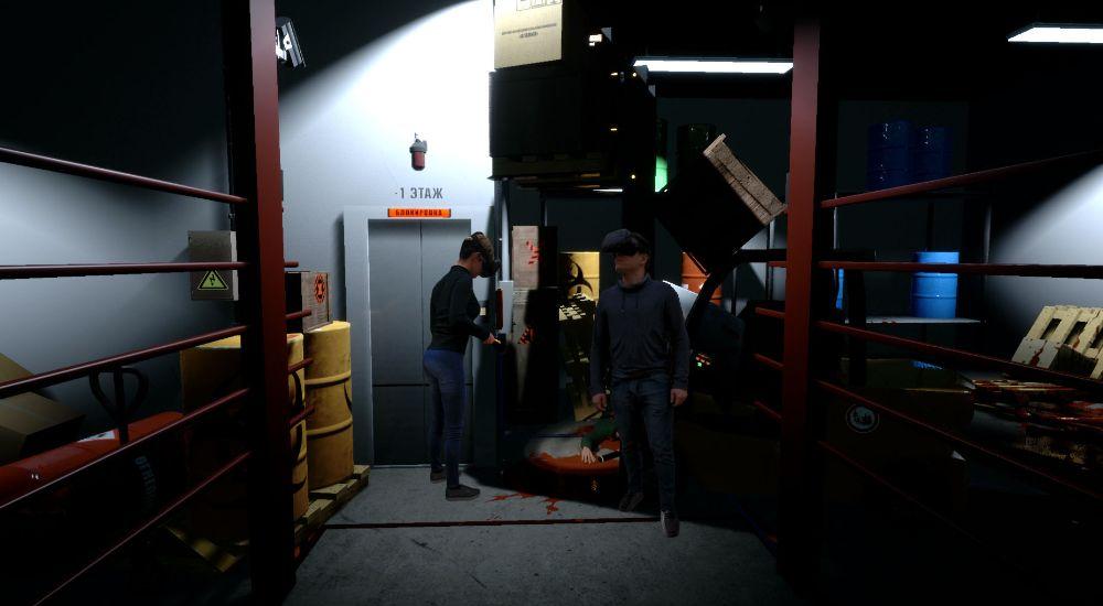 VR квест НИИ Агамия в Москве фото 4