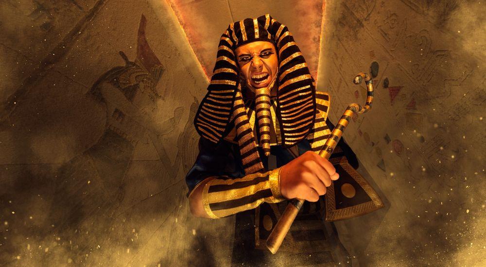 Квест Проклятие Рамзеса в Москве фото 0