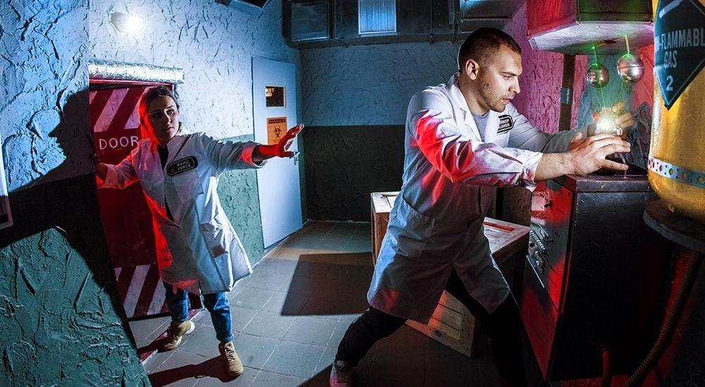 Квест Инопланетная лаборатория «Half-Life» в Москве фото 1